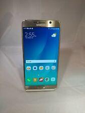 Samsung Galaxy Note 5 32GB Gold Platinum Verizon Unlocked Excellent Condition