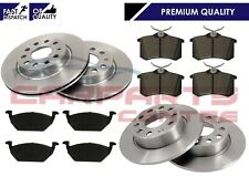 FOR VW GOLF MK5 1.4 1.6 2005-2009 QUALITY FRONT REAR BRAKE DISCS PADS