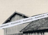Lieberhof bei Ober-Tegernsee - Hofgebäude mit Thors Axt  - um 1935 - selten