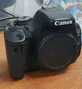 Canon EOS 600D 18.0MP Digital SLR Camera - Black (EF-S 18-55mm IS II Lens