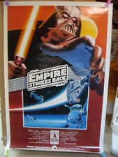 STAR WARS Empire 1990 Re-release 1-sheet Rolled DARTH VADER 10th Anniversary