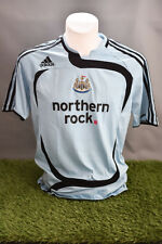 Newcastle United Football Shirt Adult S Away 07/08 Adidas