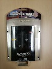 Monster Flatscreen Powercenter 300 - Surge Protection, Better Picture - New