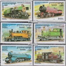 Cambodge 1585-1590 (complète edition) neuf avec gomme originale 1996 Locomotives