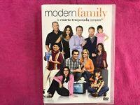 MODERN FAMILY SERIE TV LA CUARTA TEMPORADA 3 x DVD ESPAÑOL INGLES AM
