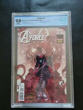 A- Force 1 1:50 variant CBCS 9.8 1st appearance (LIKE CGC)