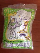 NEW, SEALED MCDONALD'S 1999 TOY STORY 2 BUZZ LIGHTYEAR CANDY DISPENSER