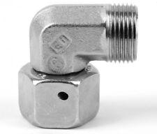 EW08LCF Parker EO Swivel Nut Elbow 24˚ Flareless Female Swivel OD 8mm x M14