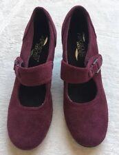 Aerosoles Heelrest Mary Jane Pumps, Women's Size 6, Burgundy/Maroon, Block Heels