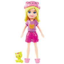 Polly Pocket 9.5cm Doll and Accessory: Sleepover Slumber Party POLLY (BCY71)