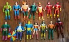 Vintage 1984 DC Superpowers Action Figure Lot Superman Flash Green Lantern