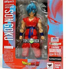 USA S.H. Figuarts Super Saiyan God Goku Dragon ball Z DBZ Bandai Action Figure