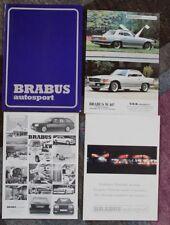 Prospetto Brabus Autosport TUNING MERCEDES rarità benessere 80er anni