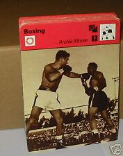 Archie Moore 'Old Mangosta' Boxeo Tarjeta de Coleccionista