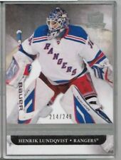 11/12 Upper Deck The Cup Henrik Lundqvist  Base #'ed 214/249