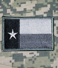 TEXAS TX LONE STAR STATE FLAG USA ARMY ACU VELCRO® BRAND FASTENER PATCH