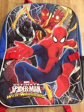 Kids Spiderman Web-warriors Bookbag Marvel Backpack
