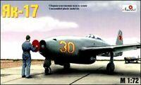 Amodel 7224 - 1/72 - Yak-17 Soviet Feather Fighter, scale plastic model kit