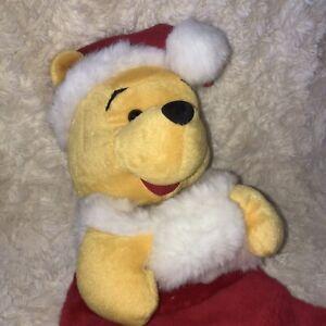 Original Disney Winnie The Pooh Character 3D Christmas Stocking - BRITE SPARKS