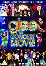 Glee The Concert Movie 2012 Lea Michele, Cory Monteith NEW UK R2 DVD