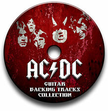 AC/DC STYLE MP3 ROCK GUITAR BACKING TRACKS COLLECTION JAM TRACKS