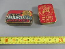 Lot anciennes aiguilles de phonographe (Herold, Marschall), 2 boites needles