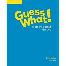 Guess What! Level 2 Teacher's Book with DVD British English, Frino, Lucy, Very G