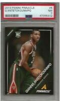 Giannis Antetokounmpo 13/14 Panini Pinnacle Rookie PSA 7