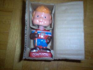 1960s Montreal Canadiens Hockey Mini Bobblehead with Original Box Sharp  129.99$