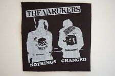 "Varukers Cloth Patch Sew On Badge  Punk Rock Music Approx 4.5""X4.5"" (CP19)"