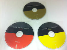 Andrew Lloyd Webber Sixty 3 x Disc Music CD - DISCS ONLY in Plastic Sleeves
