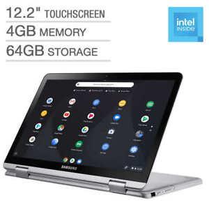 "New sealed Samsung 12.2"" Touchscreen 2-in-1 Chromebook 3965Y 4G Ram 64G eMMC"
