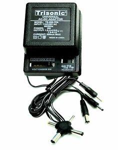 500ma Universal Transformer AC/DC Power Adapter 7 Way 3V 4.5V 6V 7.5V 9V 12V