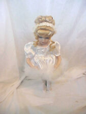1998 Royal Collections Porcelain Ballerina Doll Blond Hair Blue Eyes
