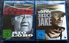 BIG JAKE / RIO LOBO - 2 x Blu Ray Region B/UK - John Wayne