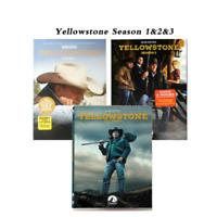 Yellowstone: Season 1 2 3  1-3(DVD 2020, 12-Disc Set)Fast Shipping