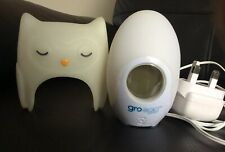 GRO EGG COLOUR CHANGING DIGITAL ROOM CHANGING THERMOMETER ORLA OWL