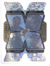 07-08 SPX Force Quad Hologram Gordie Howe Heatley Iginla St. Louis #F4 *33803