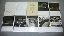 Prospekt BMW  2500/2800 - Premierenmappe mit neun Bild- und Texttafeln, 9.1968