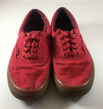 Vans Classic Skate Shoes Mens Size 6.5 Womens Size 8 Canvas Lace Up Gum Soles