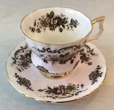 Royal Wisdsor Fine Bone China Cup & Saucer Pink & White Roses