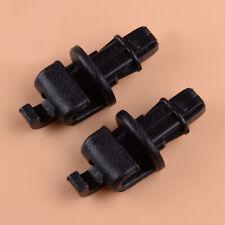 2Pc Plastic Sliding Door Sun Shade Hook Clip Parts Fit For Honda Odyssey 2005-10