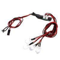 RC Car Parts LED Lamp 3.7V 5mm Flash Strobe Lights for RC Model Drifting Car