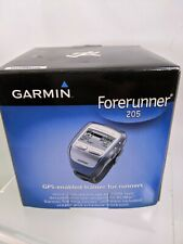 Garmin Forerunner 205 GPS-Enabled Trainer for Runners Box Charger Software A-10