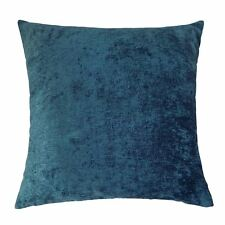 """FILLED CHENILLE TWO TONE TEAL 20"""" 50CM CUSHION"""
