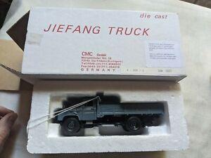 CMC jiefang truck germany tray truck grey Model car R1 134 M