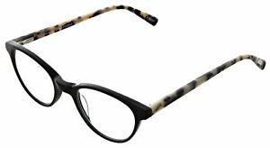 Eyebobs-2315 Miss Judged-18 Black/Black White Tortoise +3.50