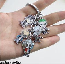 DC Comics Suicide Squad Joker Metal Figures keyring /keychain pendant Collection