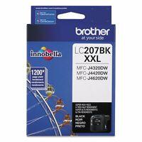 GENUINE Brother LC207 XXL Black Ink for MFC-J4320DW MFC-J4420DW MFC-J4620DW