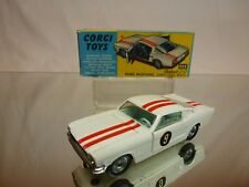 CORGI TOYS 325 FORD MUSTANG FASTBACK 2+2 COMPETITION MODEL - 1:43 - EXCELLENT IB